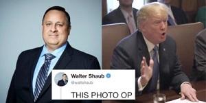 Shaub and Trump